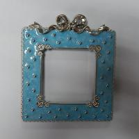 Buy cheap Metal photo frame,ready mold,112*128*10mm,143g, China factory for zinc alloy picture frame from wholesalers