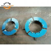 Buy cheap Long Life Gripper Welding Three Jaw Self Centering Chuck Casted Iron Material from wholesalers