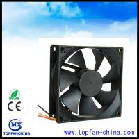 Buy cheap High Air Flow Axial Fridge Cooling Fan , 92mm 24V / 48V Explosion Proof DC Axial Fans from wholesalers
