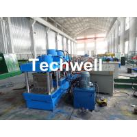 Buy cheap Gear Box Driving Type Purlin Roll Forming Machine For Making C / Z Channel With 1.5-3.0mm Thickness from wholesalers