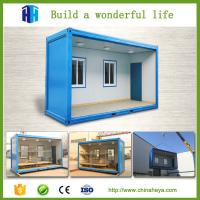 Buy cheap Green house construction 20ft used shipping container house for sale from wholesalers