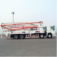 Buy cheap Sinotruk HOWO Concrete Pump Truck With 21m Flexible And Efficient Telescopic Boom from wholesalers