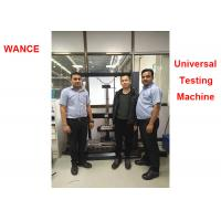 Buy cheap 1000mm Test Width Electromechanical Universal Testing Machine For Automotive Seat Compression product