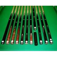 Buy cheap 40 inch / 24oz handmade ebony / john parris snooker 3 piece cue mastercraft craft cues from wholesalers