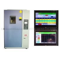 Buy cheap Two Zones Environmental Thermal Shock Chamber Hermetic Two Stage Compressor from wholesalers