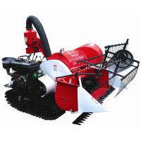 Buy cheap 2015 new arrival 4LZ-0.8 Tracked Mini Paddy Wheat Combine Harvester from wholesalers