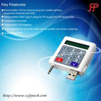 Buy cheap android Windows pc mini pos with magnetic card reader from wholesalers
