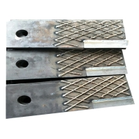Buy cheap Impact Resistence 150J/Cm2 High Chromium Cane Knife Edges For Mining product