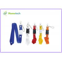 Buy cheap Customize Purple Lanyard USB Flash Drives Plastic for Windows Vista product