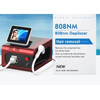 Buy cheap Combination 755nm / 1064nm / 808nm Diode Laser Hair Removal Machine Big Spot Size from wholesalers