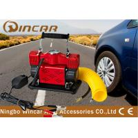 Buy cheap Auto Mobile Air Compressor Electric Mini 12V For Tire Tyre 1 Year Warrant Time from wholesalers