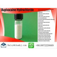 Buy cheap Pain Killer Powder Bupivacaine Hydrochloride For Local Anesthetics , Cas No 14252-80-3 product