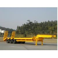 Buy cheap 12 tires low loader truck trailer from wholesalers