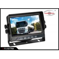 Buy cheap 5 Inch Screen Cvbs Signal Bus Monitoring System With 3 Video Inputs Cameras product