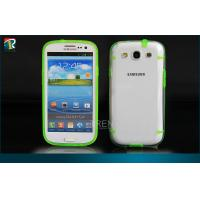 Buy cheap Durable PC  TPU Samsung Galaxy Protective Cases for Samsung Galaxy S3 I9300 with Dust Pulgs from wholesalers