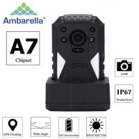 Buy cheap H.264 1296P True HD Video Security Guard Body Camera With GPS Recording from wholesalers