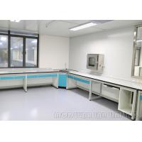 Buy cheap Steel Shelves Dental Lab Bench , Double Electric Socket Dental Laboratory Work Benches from wholesalers