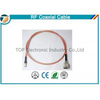 Buy cheap Brass Antenna Jump Pigtail RF Coaxial Cable with TNC Connector product