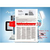 Buy cheap Italian Language Microsoft Windows 10 Pro OEM Sticker 64 Bit Software Brand new Activation Online from wholesalers