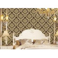 Buy cheap Classical Strippable Damask Wall Covering , Luxury Home Decoration Wall Covering from wholesalers