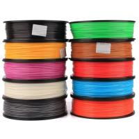 Buy cheap Flourescent Green ABS Plastic Filament 1.75mm For 3D Printing from wholesalers