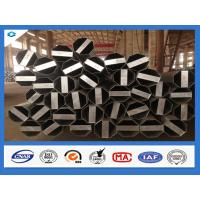 Buy cheap Q345 Steel Material 40FT Hot Dip Galvanized Electric Steel Pole from wholesalers