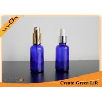 Buy cheap Small 30ml Cobalt Blue Dark Glass Bottles for Essential Oils , Essential Oil Glass Containers from wholesalers
