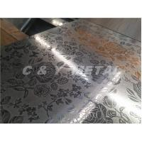 Buy cheap Decorative 304 stainless steel embossing sheet with customized pattern from wholesalers