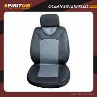 Buy cheap OEM Knurling polyester customized car seat covers with 3mm sponge from wholesalers