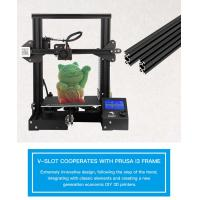 Buy cheap wholesale  Creality 3D Ender-3 Vslot Prusa I3 DIY 3D Printer Kit Ender3  with MK10 Extruder 1.75mm 0.4mm Nozzle from wholesalers