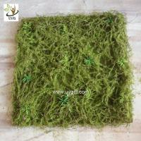 Buy cheap UVG 30cm micro soft artificial grass mat with nylon moss for beach wedding decor GRS042 from wholesalers