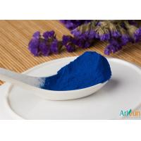 Buy cheap Excellent Water Soluble Effect and Safe Natural Food Coloring Powder Skye Blue Phycocyanin Powder from wholesalers