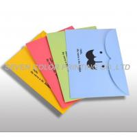 Buy cheap Printed paper file folder, customized Paper file folder, Paper File Folder with Pocket from wholesalers