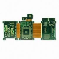 Buy cheap Immersion gold Rigid Flexible PCB printed circuit boards for touch screen , rigid flex board from wholesalers
