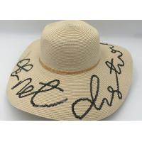 Buy cheap Womens Sun Hat Foldable Floppy Travel Packable  Summer Beach Straw Hats from wholesalers