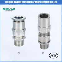 Buy cheap BDM-25 ex d brass,stainless steel  Explosion-proof Cable wiring and steel pipe wiring from wholesalers