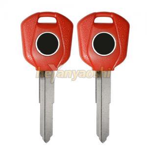 Buy cheap Uncut Red Motorcycle Key Shell , High Performance Portable Honda Key Shell product