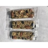 Buy cheap Customized Soft Taste Nutrition Bar Dried Fruit Protein Energy Bars Contain Vegan Foods from wholesalers