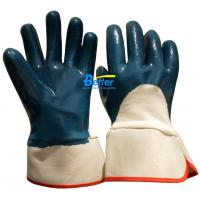 Buy cheap Competitive Blue Nitrile Coated Gloves-Knit Wristheavy-duty work gloves-BGNC203 from wholesalers