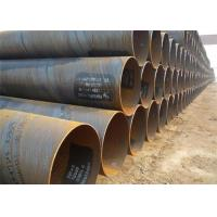 Buy cheap Low Carbon Steel Spiral Steel Pipe API 5L Grade B SSAW , S355jh Psl1 from wholesalers