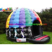 Buy cheap Music Inflatable Disco Dome Bouncy Castles Customized For Dancing from wholesalers