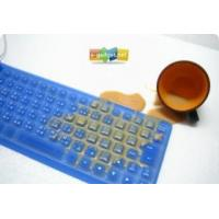 Buy cheap Flexible Silicon USB Spillproof Keyboard product