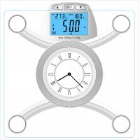Buy cheap With USB connector to upload data to computer body fat scale HE-0335B product