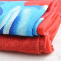 Buy cheap Rusha Textile Knitted Ring Spun 30s Rayon Viscose Lycra Big Designs Printed Fabric from wholesalers
