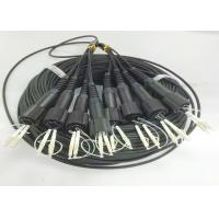 Buy cheap 8 Core Outdoor Fiber Optic Cable / Singlemode Or Multimode Fiber Optic Cable from wholesalers
