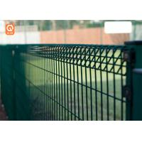 China Hot-Dipped Galvanized / PVC Coated BRC Bending Top curved metal wire mesh Fence on sale