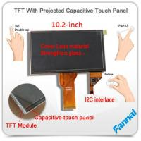 Buy cheap G+G+G Rugged TFT 10 Inch Capacitive Touch Screen Lcd Monitor for 3D Printer from wholesalers