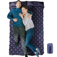 Buy cheap Waterproof Compact Built In Air Pump TPU  Two Person Camping Sleeping Pad from wholesalers