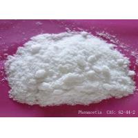 Buy cheap Effective Fever Reducer Phenacetin Powder CAS 62-44-2 Soluble In Acetone from wholesalers
