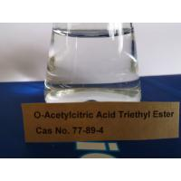 Buy cheap Triethyl Citrate Plasticizer Non - Toxic For Cosmetics, Personal Care Products product
